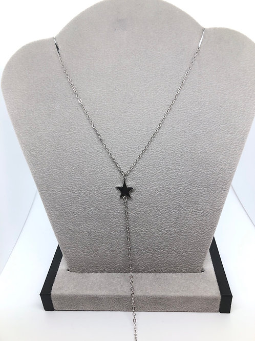 Silver Star Dainty Necklace