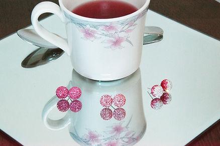 Tea cup and earrings Bellezza Moda: Beauty and Fashion | Saskatchewan