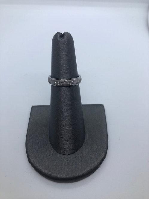 Thin glitter ring