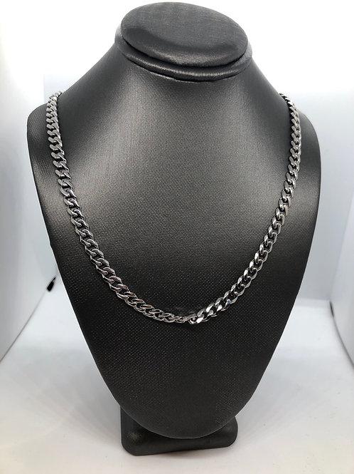 """Medium Silver Chain 17.5"""""""