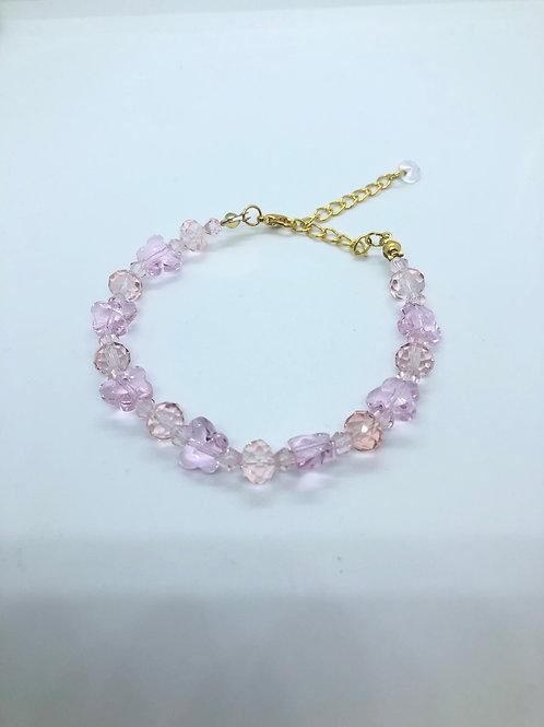 Light Pink Butterfly Bracelet