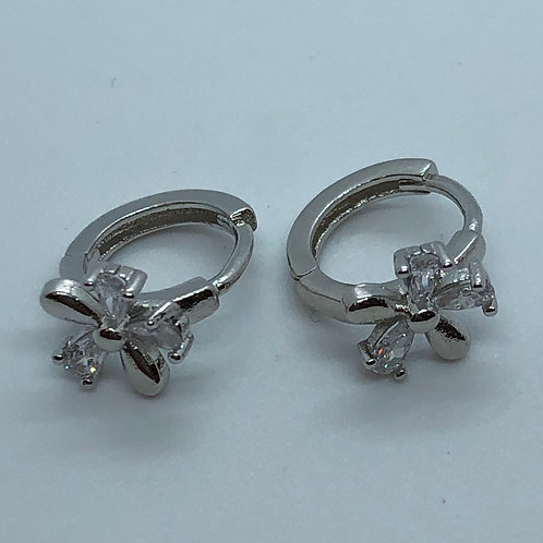 Small 925 silver hoops