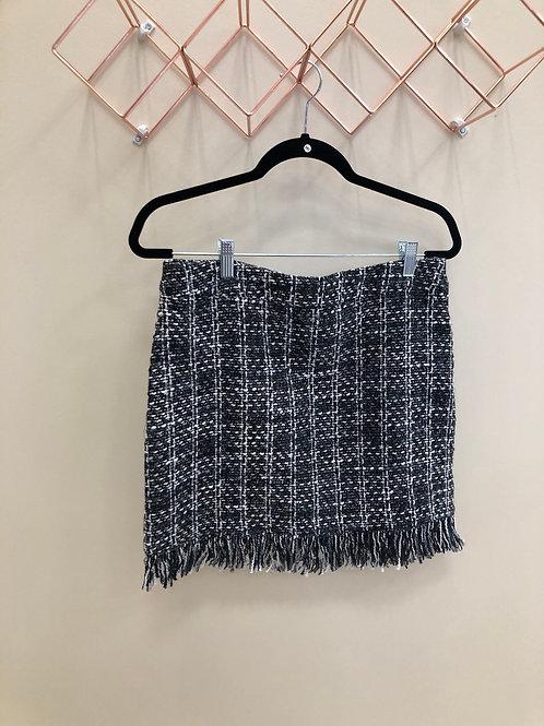 Tweed style skirt