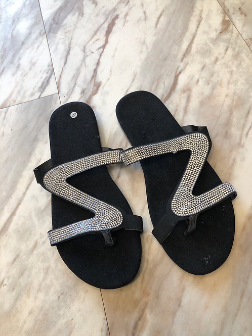 White Sparky Sandals