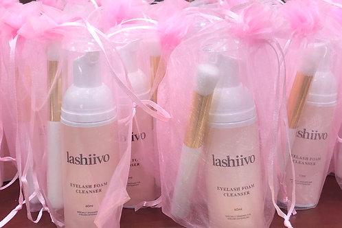 Lashiivo Eyelash extension cleanser