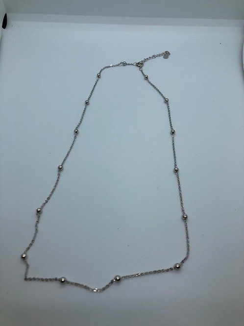 Ball Beaded dainty necklace