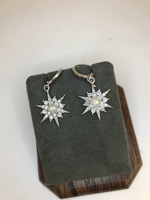 Hanging Star Earrings
