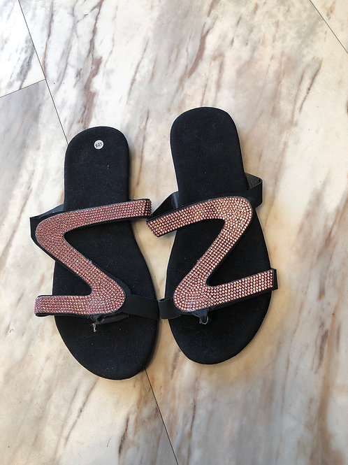Sparkly Pink Sandals
