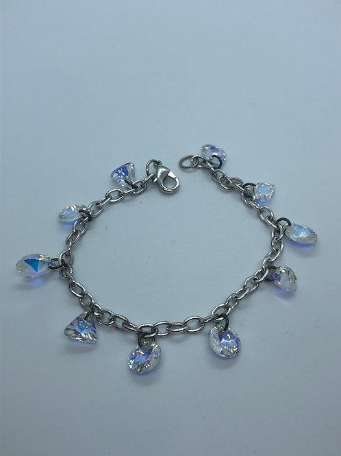 Brass chain bracelets