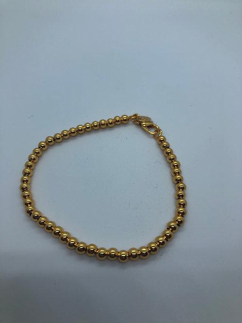 Beaded ball bracelet