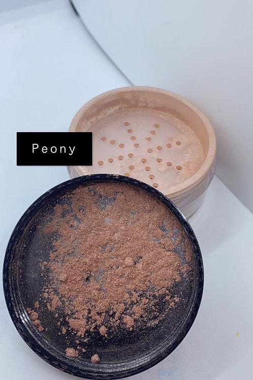 Peony pigment face powder