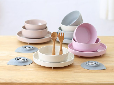 Natural Whale + Miniware = The Best Inside Out Natural Products Choice For Your Kids