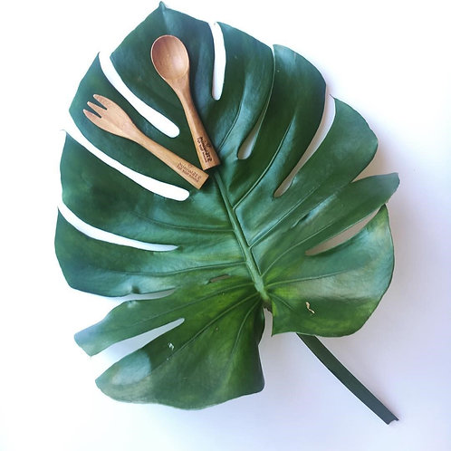 Miniware Cutlery Set - Mao Bamboo