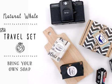 (New) Travel Soap Sets are launched today!