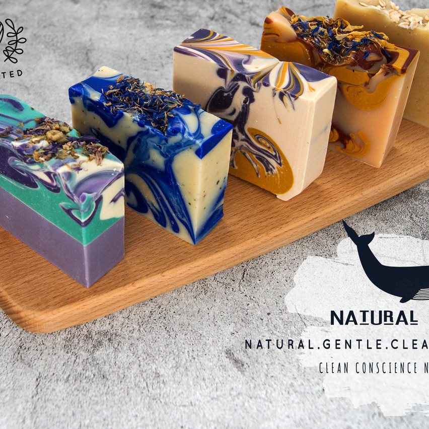 Cold Process Natural Australian Handmade Soap by Dolphin Vibes