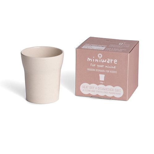 Miniware 天然寶貝兒童學習餐具 : 愛喝水竹纖維水杯