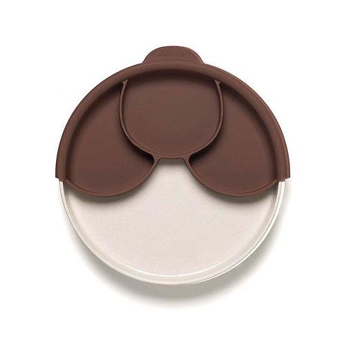 Miniware Smart Divider Set - Chocolate with Natural Bamboo