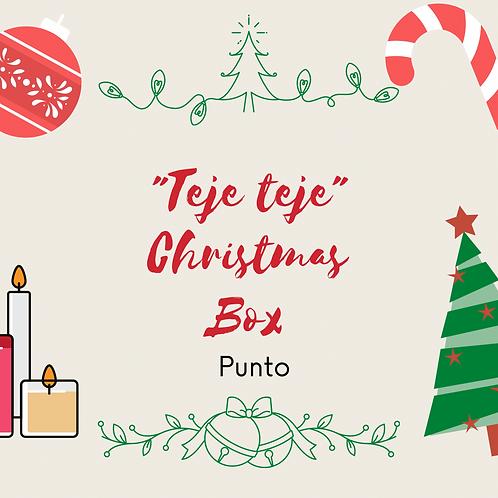 Teje teje Christmas  Box  ( punto)
