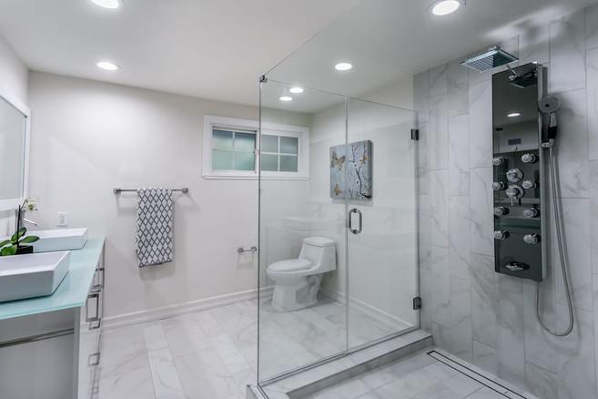 Home revonavation bathroom
