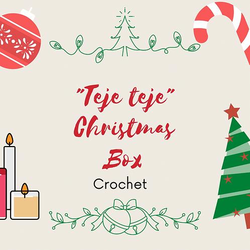 Teje teje Christmas Box ( crochet )