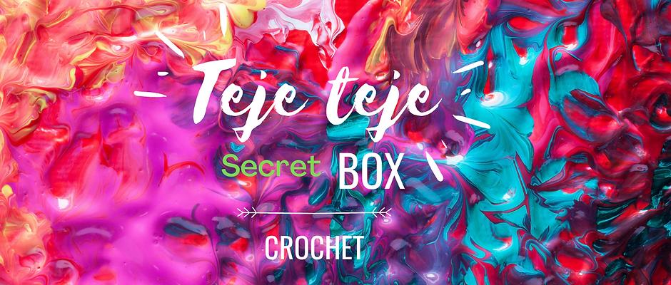 Teje teje secret box crochet Septiembre 2020