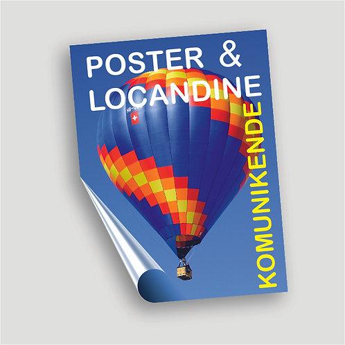 POSTER E LOCANDINE 21X29,7 (A4)