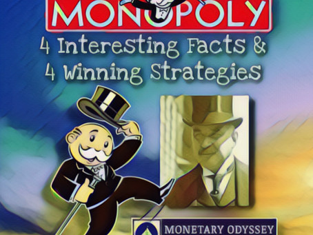 The Game of Monopoly: 4 Interesting Facts & 4 Winning Strategies