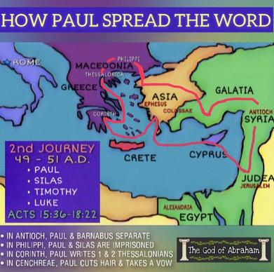 Paul's Missionary Journeys