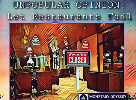 Unpopular Opinion: Let Restaurants Fail
