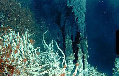 Hydrothermal Vent in Oceans