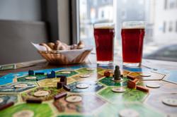 Catan, Beer and Pretzels