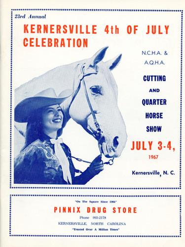 1967 Program Cover