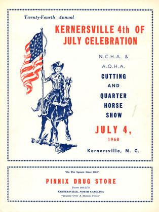 1968 Program Cover