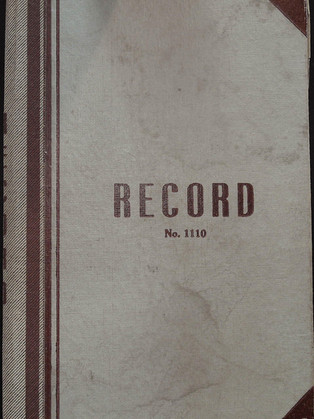 1952 Planning Committee Record Book