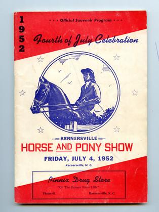 1952 Program Cover