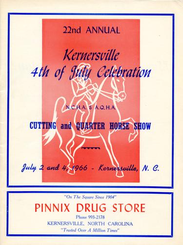 1966 Program Cover