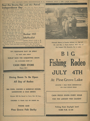 """""""Beat the Drums for Independence Day"""" The People's News: July 1st, 1958"""