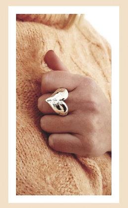 Кольцо PureSilver Heart