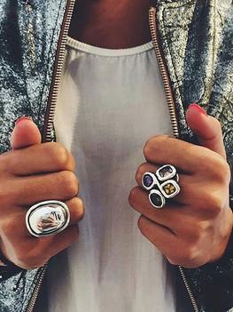 PureSilver серебряные кольца