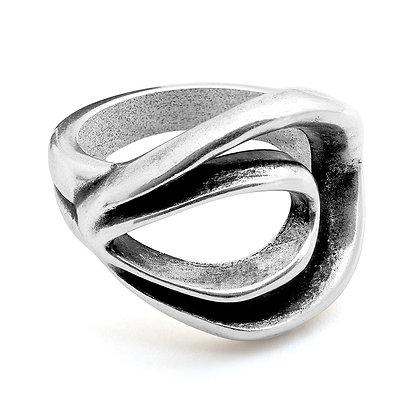 Кольцо Ciclon без вставок