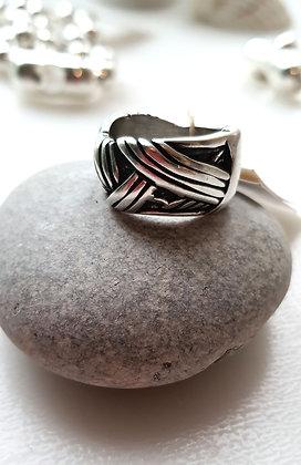 Кольцо Унисекс в серебре