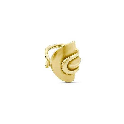 Кольцо Ciclón Ginko в золоте