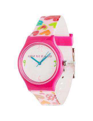 Часы Agatha Ruiz de la Prada сердечки