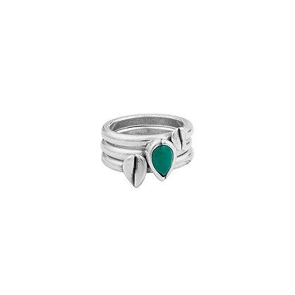 Кольцо сборное Ciclón Muriellos зеленый