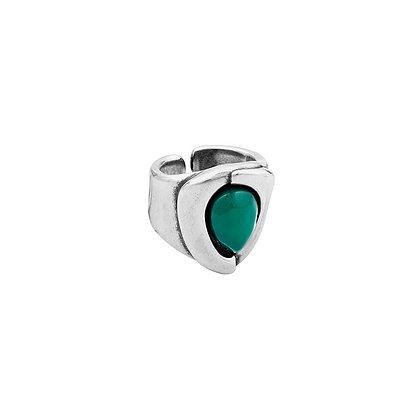 Кольцо Ciclón Genal зеленый