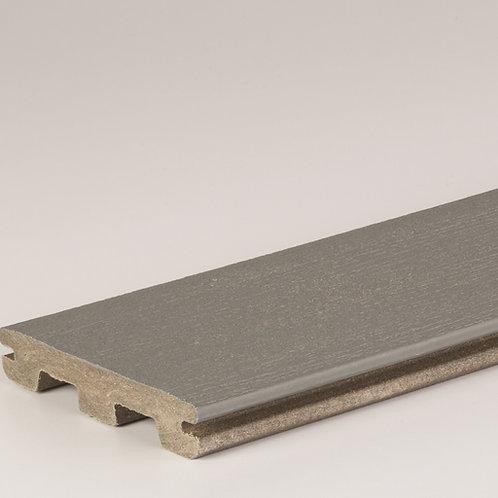 PRØVEBIT av Timbertech Edge kompositt terrassebord, Maritime Grey
