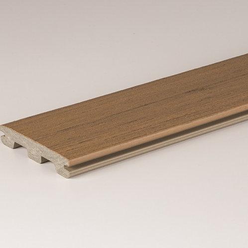 PRØVEBIT av Timbertech Edge kompositt terrassebord,Coconut Husk