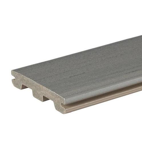 PRØVEBIT av Timbertech Edge kompositt terrassebord, Sea Salt Grey