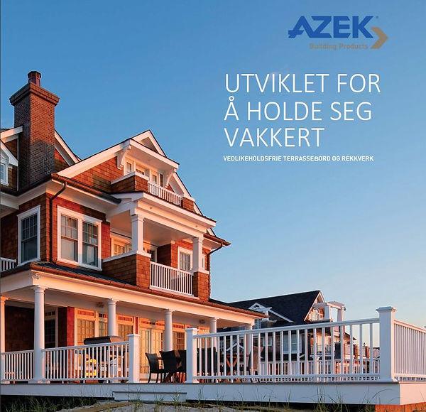 AZEK Terrasse Brosjyre