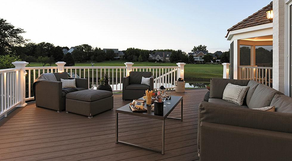 AZEK vedlikeholdsfrie kompositt terrassebord